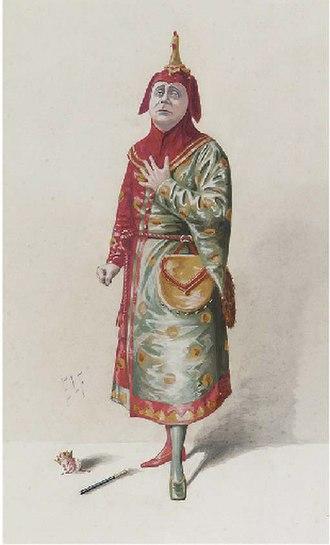 Charles H. Workman - Workman caricatured by ELF in Vanity Fair, 1910