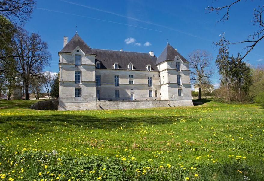 Château de Nuits,  façade orientale