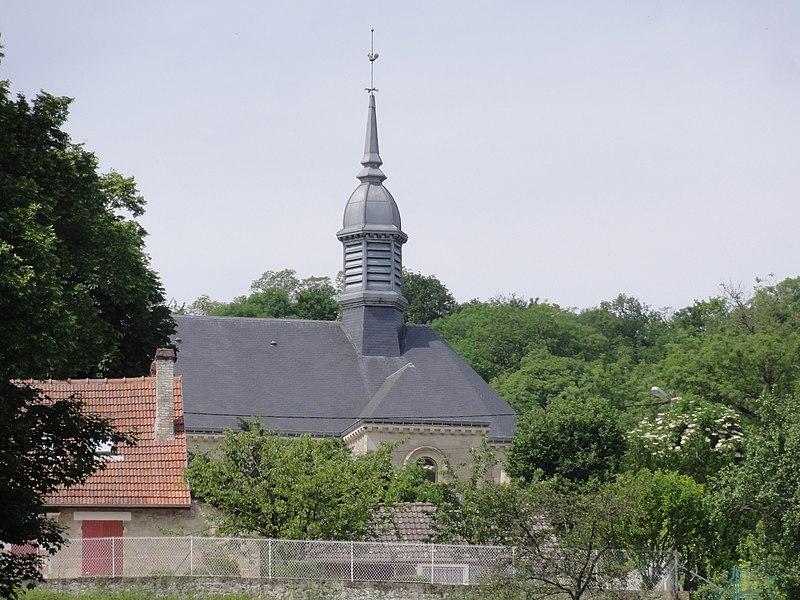 Chavonne (Aisne) Église