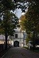 Chełm, Brama Uściługska (Brzeska) - widok od strony parku..jpg