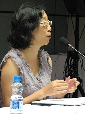 Chen Danyan - Chen Danyan at Shanghai Book Fair 2008