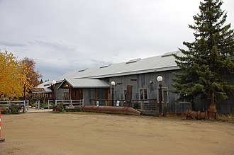 National Register of Historic Places listings in Fairbanks North Star Borough, Alaska - Image: Chena Pump House NRHP Fairbanks, AK
