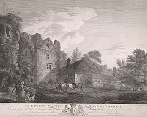 Chepstow Castle in Monmouthshire: To his Grace the Duke of Beaufort