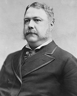 Chester A. Arthur 21st President of the United States