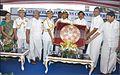 Chief Minister of Tamil Nadu Edappadi K. Palaniswami presenting a memento to the Captain of INS Chennai during dedication ceremony.jpg