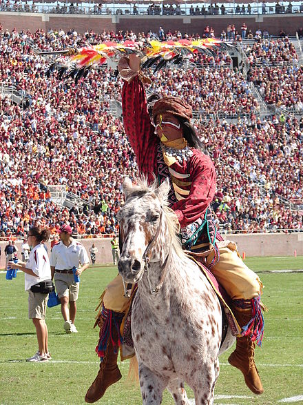 FSU's Chief Osceola on Renegade Chief Osceola on Renegade FSU.jpg