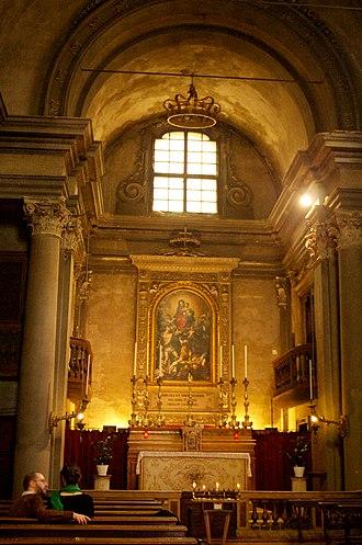 Santa Maria della Pomposa, Modena - Image: Chiesa della Pomposa (interno)