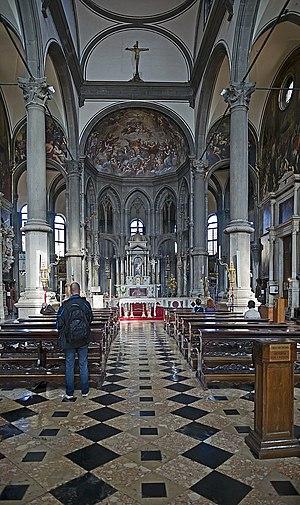 San Zaccaria, Venice - Inside