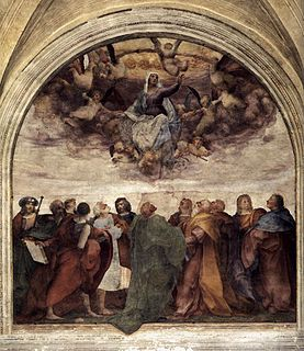 <i>Assumption of the Virgin</i> (Rosso Fiorentino)