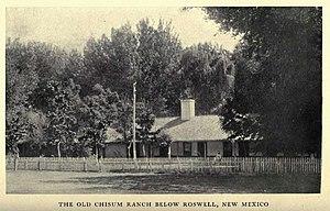 John Chisum - Image: Chisum Ranch NM