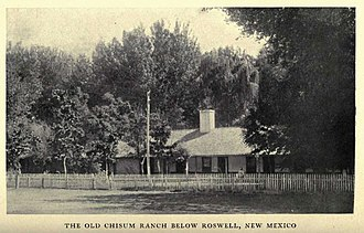 John Chisum - Chisum Ranch near Roswell, NM