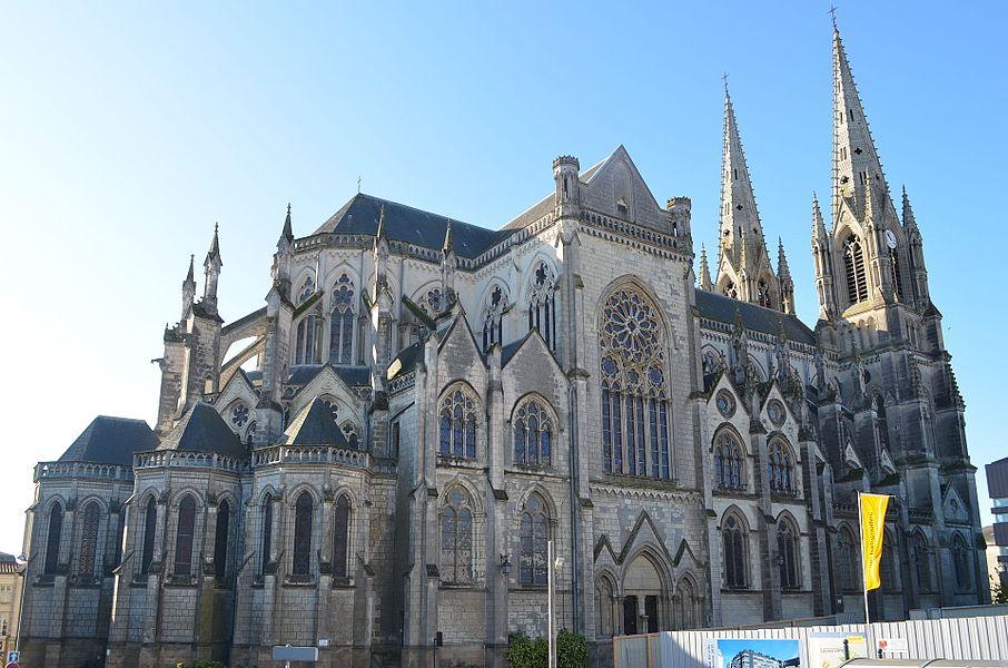 Notre-Dame church - Cholet (Maine-et-Loire, France)