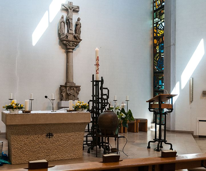 De Chouer an der Kierch zu Nidderkäerjeng.