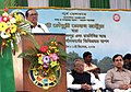 Chowdhury Mohan Jatua addressing at the foundation stone laying ceremony of the New Line between Jaynagar Majilpur and Raidighi, in West Bengal on December 12, 2009.jpg