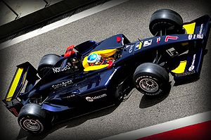 Super Nova Racing - Christian Bakkerud driving for Super Nova in the 2008 GP2 Asia Series season.