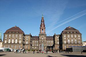 Thorvald Jørgensen - Christiansborg Palace in Copenhagen, Thorvald Jørgen's most prominent work
