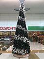 Christmas tree in shopping centre Brisbane Australia 2016.jpg