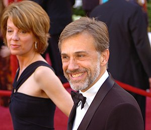 Christoph Waltz - Waltz and his wife, Judith Holste at the 82nd Academy Awards, March 2010