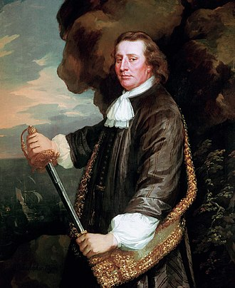 Henry Morgan - Sir Christopher Myngs, under whom Morgan served