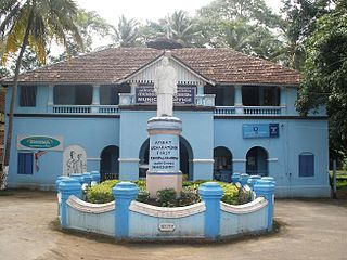 Chittur-Thathamangalam Town in Kerala, India