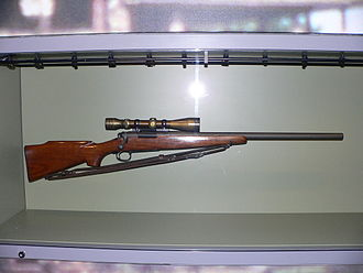 Chuck Mawhinney - Image: Chuck Mawhinney's sniper rifle