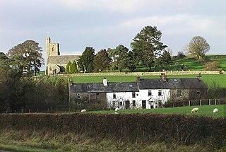 Crooklands village in United Kingdom