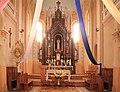 Church in Nacha (Voranava District) - interior 3 - Altar.jpg