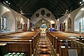 Church of St Andrew, Nuthurst, West Sussex - nave looking east.jpg