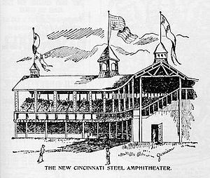 League Park (Cincinnati) - Rebuilt ballpark in 1894