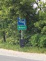 City limit sign, Váci út, 2017 Székesdűlő.jpg