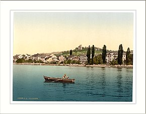 Clarens general view from the Lake Geneva Lake Switzerland.jpg