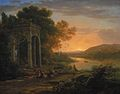 Claud Lorrain - Landscape with a Temple of Bacchus.jpg