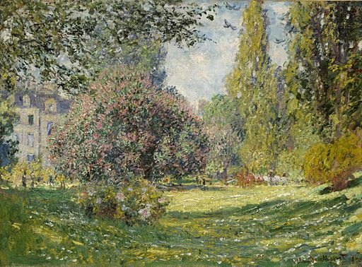 Claude Monet - Landscape, The Parc Monceau