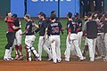 Cleveland Indians 22nd Consecutive Win (37100008622).jpg