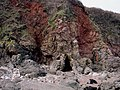 Cliff detail, Broadsands beach north, Torbay - geograph.org.uk - 63535.jpg