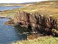 Cliffs at Ardtreck Point - geograph.org.uk - 250465.jpg
