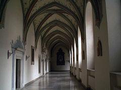 Cloister ,Cistercian Abbey of Mogila Nowa Huta.JPG