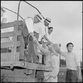Closing of the Jerome Relocation Center, Denson, Arkansas. Japanese-American evacuees are constantl . . . - NARA - 539803.tif