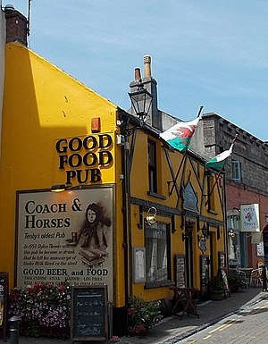 Under Milk Wood - Image: Coach & Horses Tenby geograph 3916244 by Jaggery