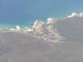 Coalcliff, New South Wales - Aerial photo from north west