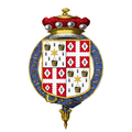 Coat of Arms of Robin Leigh-Pemberton, Baron Kingsdown, KG, PC.png