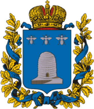 Tambov Governorate - Image: Coat of Arms of Tambov gubernia (Russian empire)