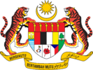 Coat of arms of Malaysia (1975-1988).
