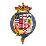 Coat of arms of Spencer Compton, 1st Earl of Wilmington, KG, KB, PC.png
