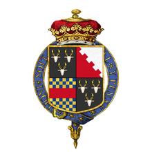 Wappen des William Cavendish, 6. Duke of Devonshire (Quelle: Wikimedia)