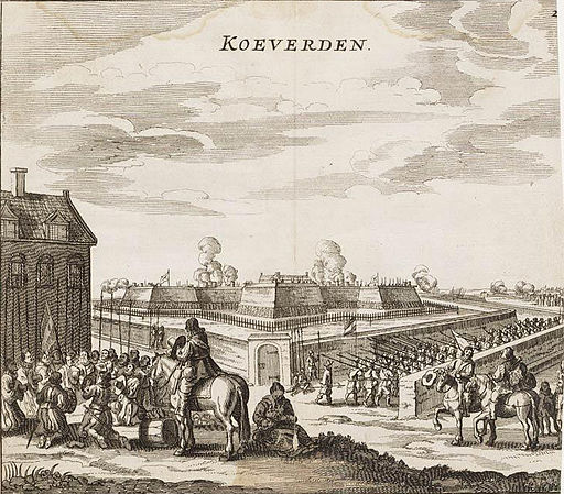 Coevorden taken by Maurice of Nassau in 1592 - Coevorden ingenomen door Maurits in 1592 (Johannes Janssonius)