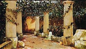 Charles Caryl Coleman - Image: Coleman The Villa Castello, Capri (1895)