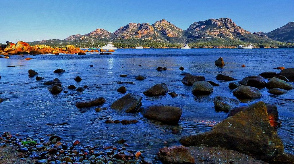 Coles Bay Tasmania Australia