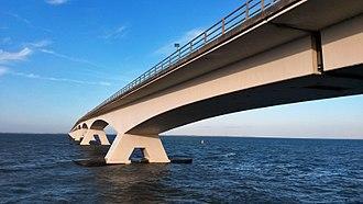 Delta Works - Zeeland Bridge