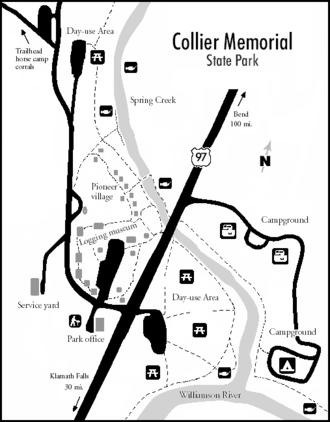 Collier Memorial State Park - Park recreational facilities.